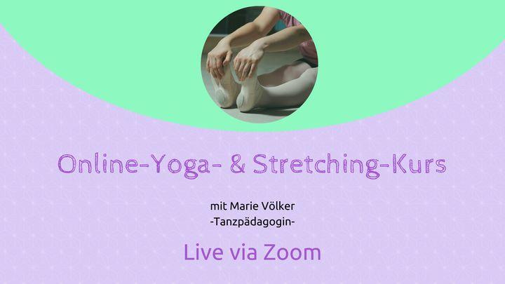 Online-Yoga- & Stretching-Einheit - Online via Zoom