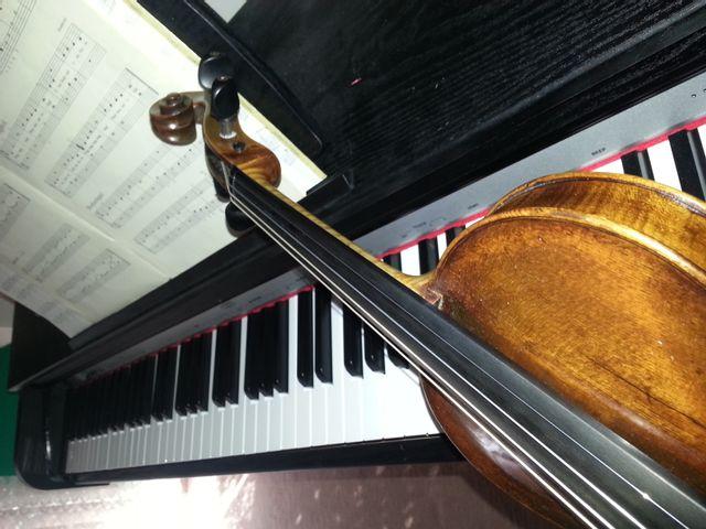 Violinunterricht, Onlinelesson on the violin, Onlineunterricht