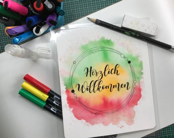 Handlettering - Learning by doing