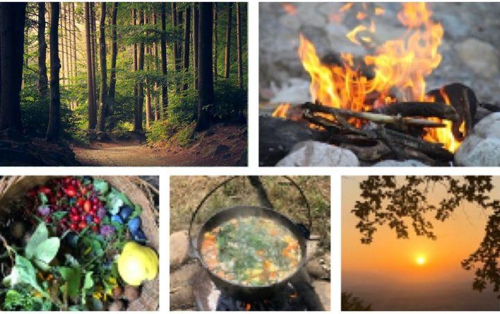 """Outdoor-Camp """"Erlebe Natur und Meistere Deinen Stress"""""""
