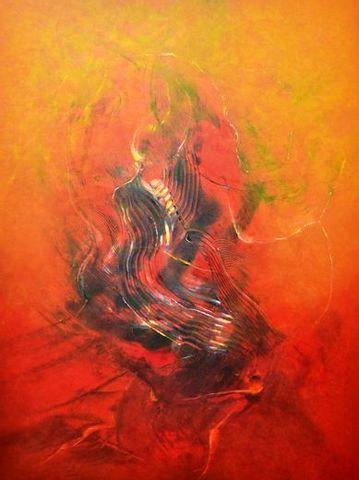 "Acrylmalereikurs ""Farbe-Struktur- Raum"" Wege zur freien Malerei"